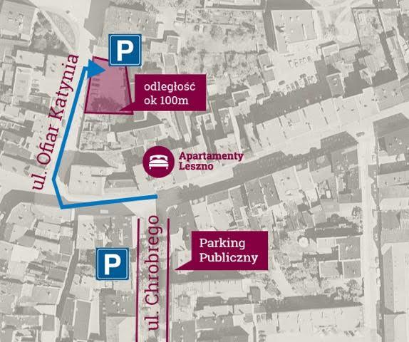 Parking - mapka dojazdu